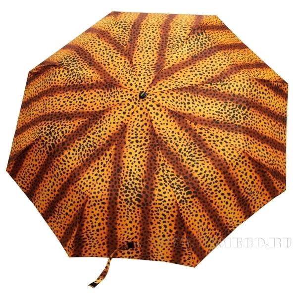 Зонт 23 цв., полный автомат, Леопард оптом