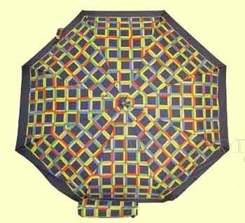 Зонт 23 цв., полный автомат, Яркие кубики оптом