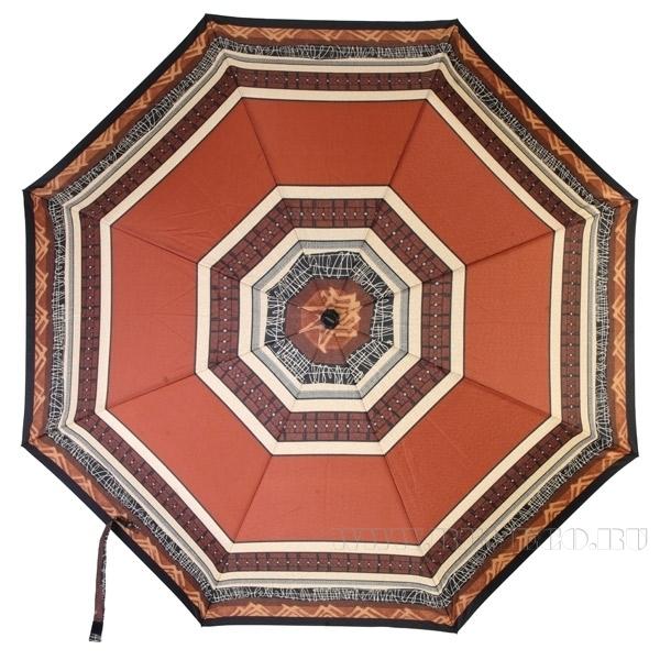 Зонт 23 цв., полный автомат, Коричневая паутина оптом