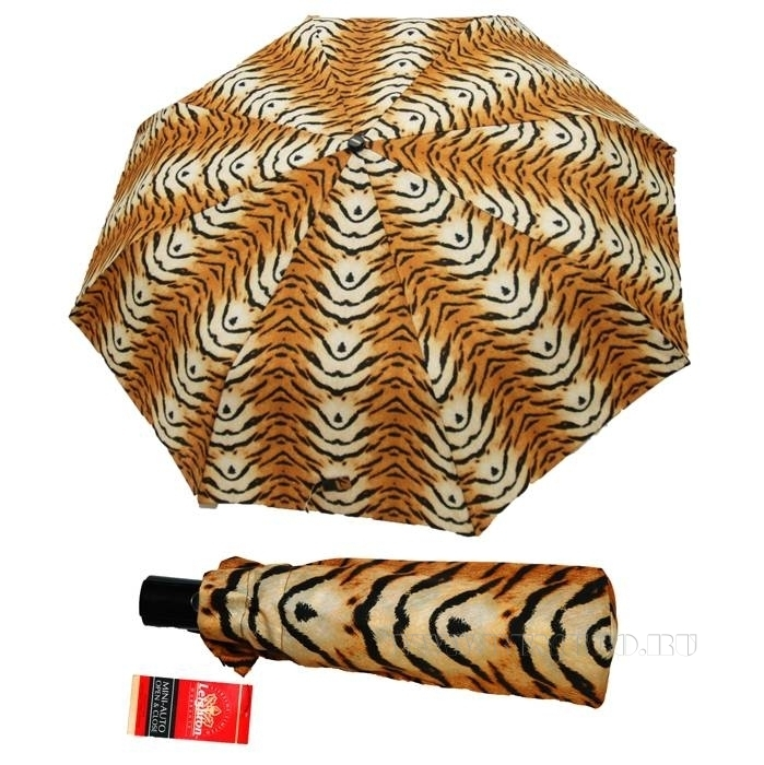 Зонт 23, полный автомат (Тигр) оптом