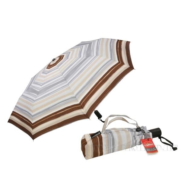 Зонт 23, полный автомат (Серо-коричневая абстракция) оптом