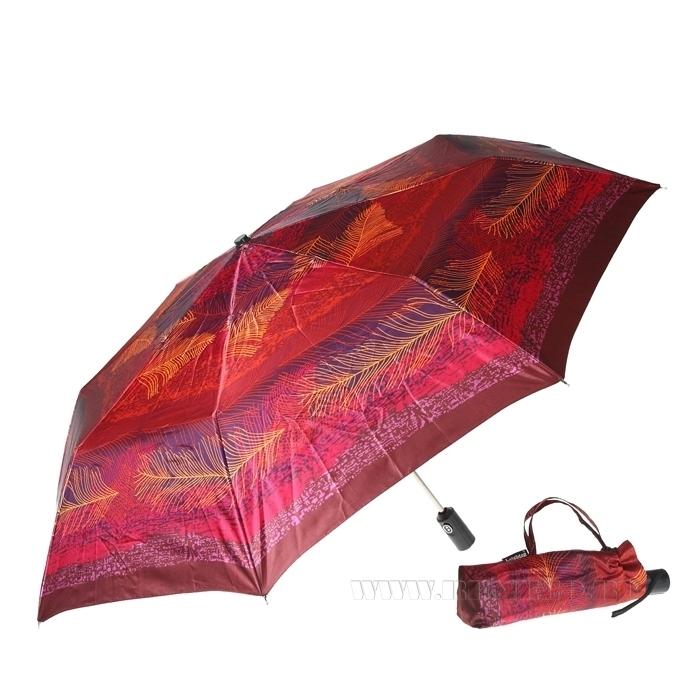 Зонт 23, полный автомат (Атласный, Перья) оптом