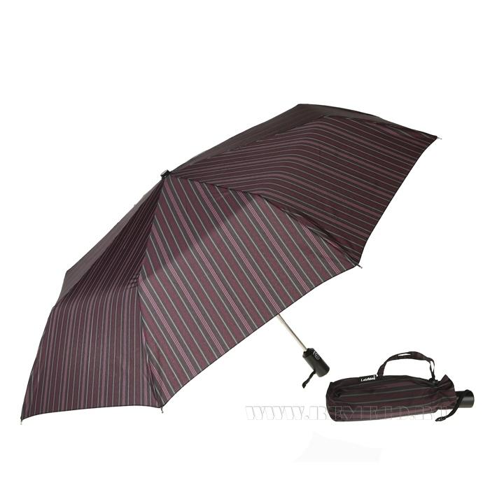 Зонт 23, полный автомат (Бордово-розовая полоска) оптом