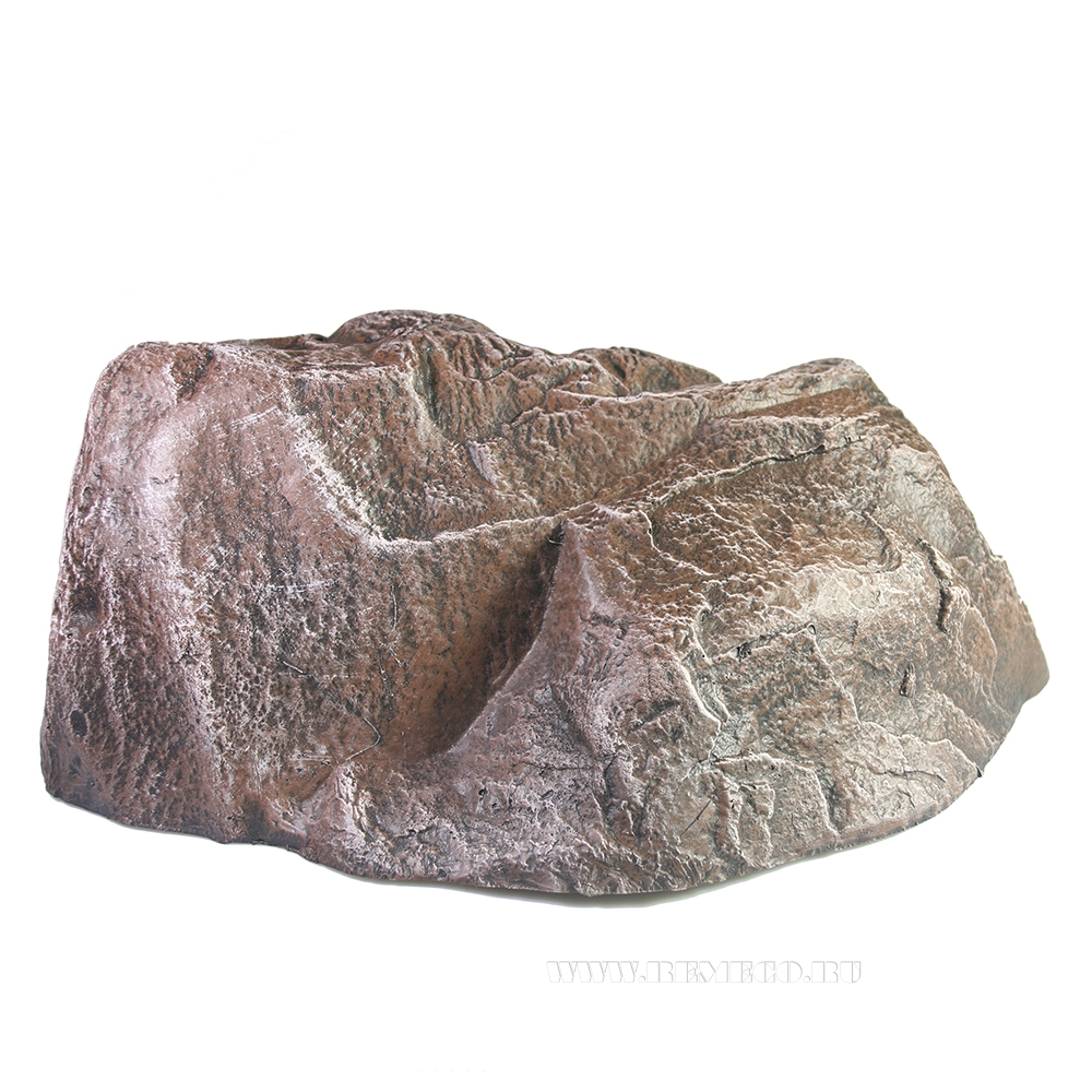 Камень декоративный, L 36 см, H 15 см оптом