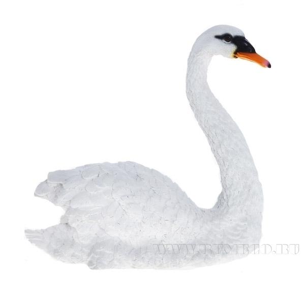 Изделие декоративное Лебедь малый, L27 H27 см оптом