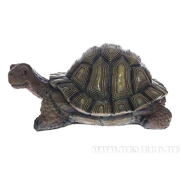 Изделие декоративное Черепаха, L28.5 W44 H25 см оптом