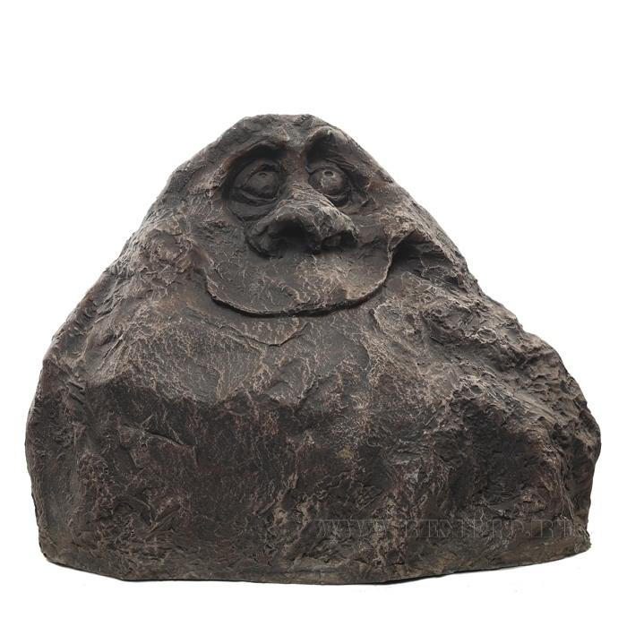 Камень-рожица декоративный, H 30 см оптом