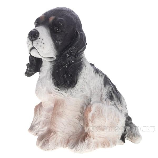 Фигура декоративная садовая Собачка Милька  L23W17H25 см оптом