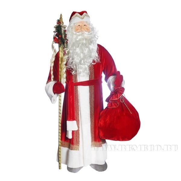 Фигура декоративная Дед Мороз H180 cm оптом