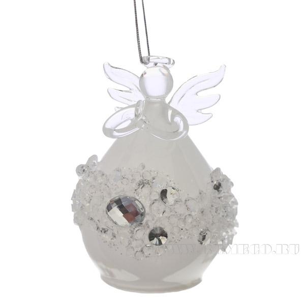 Фигурка декоративная Ангел, L7 H10 см оптом