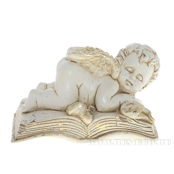 Фигурка декоративная Спящий ангел, L10 W7 H6 см оптом