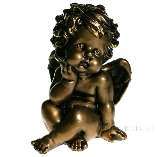 Изделие декоративное Ангелочек 12,5х10х18 см оптом