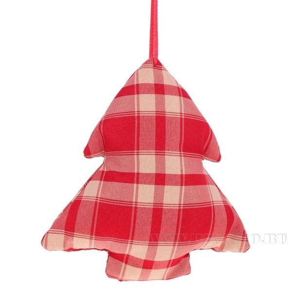 Новогоднее украшение Ёлка, 20 см оптом
