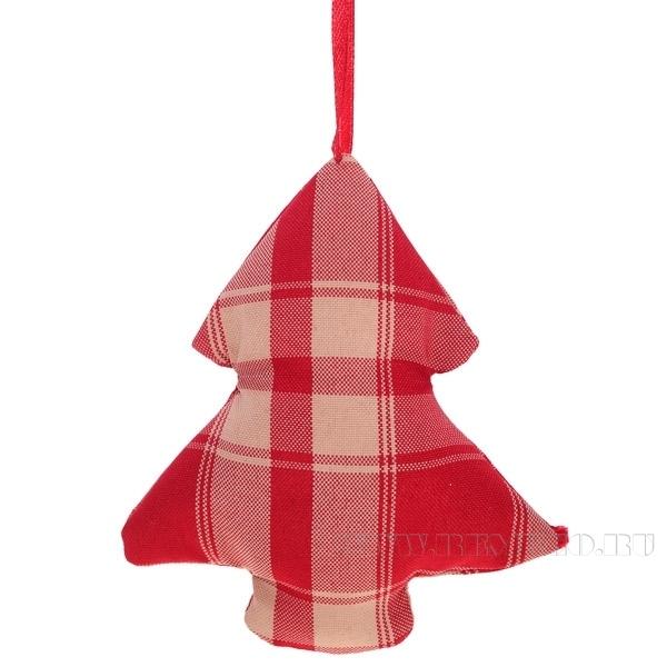Новогоднее украшение Ёлка, 12 см оптом