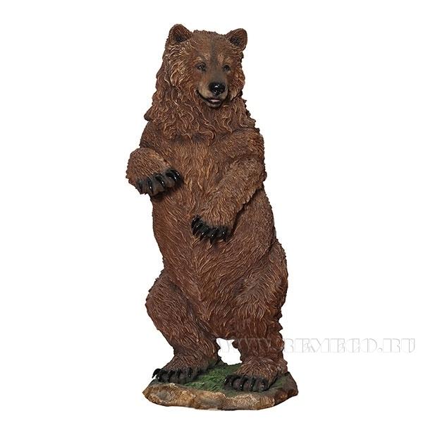 Фигура декоративная садовая Медведь большой H160 см. оптом