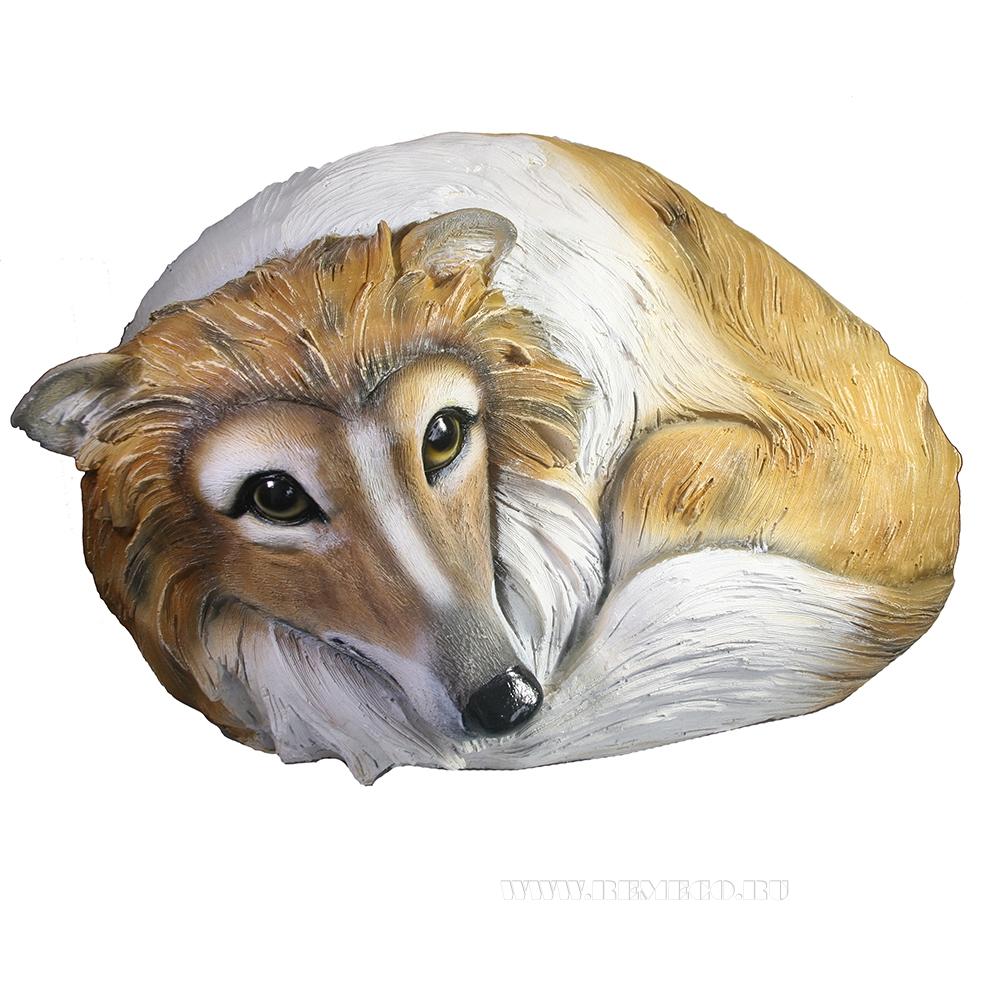 Камень декоративный Собачка Люсси, L50 W40 H29 см оптом