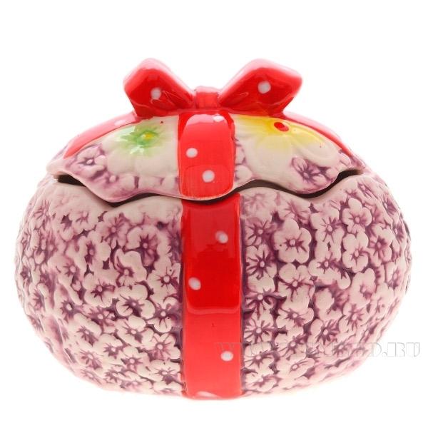 Декоративное изделие Шкатулка Яйцо , 9,5х10х13,4 см оптом