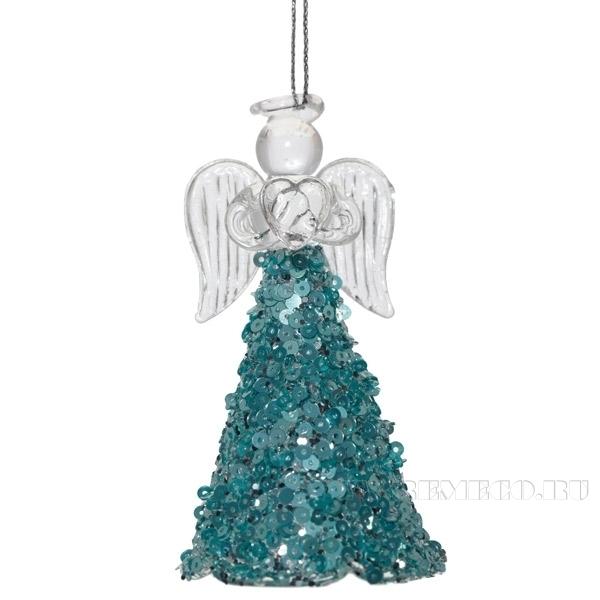 Новогоднее украшение Ангел, L5 W5 H9 см оптом