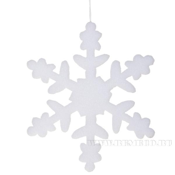 Новогоднее украшение Снежинка, 40см оптом