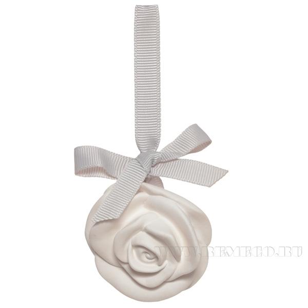 Подвеска ароматическая Роза (роза), L5,3 W2,4 H5,3 см оптом