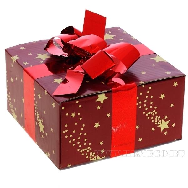 Подарочная упаковка, 15x15x8см оптом