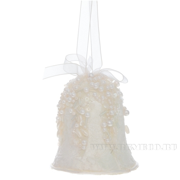 Новогоднее украшение Колокольчик ,8,5 см оптом