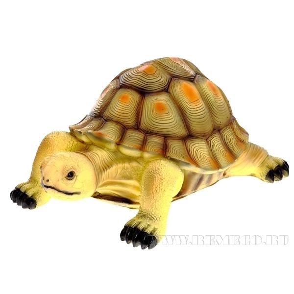 Фигура декоративная садовая Песчаная черепаха L39W26H17 см оптом