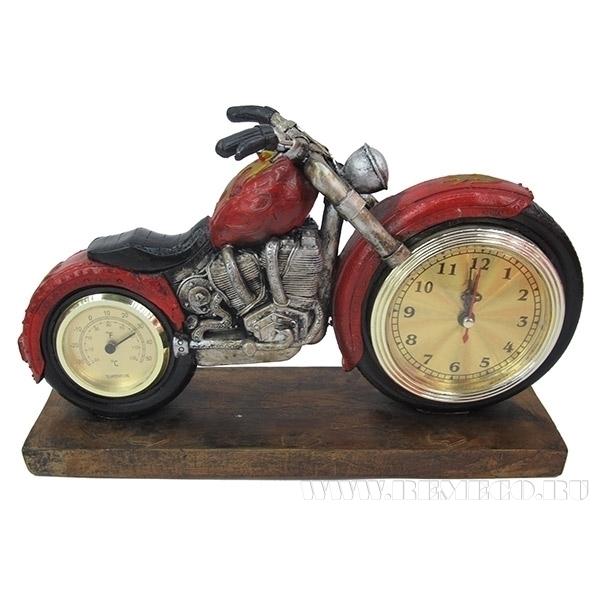 Композиция Время с термометром, 29х18х8 см оптом