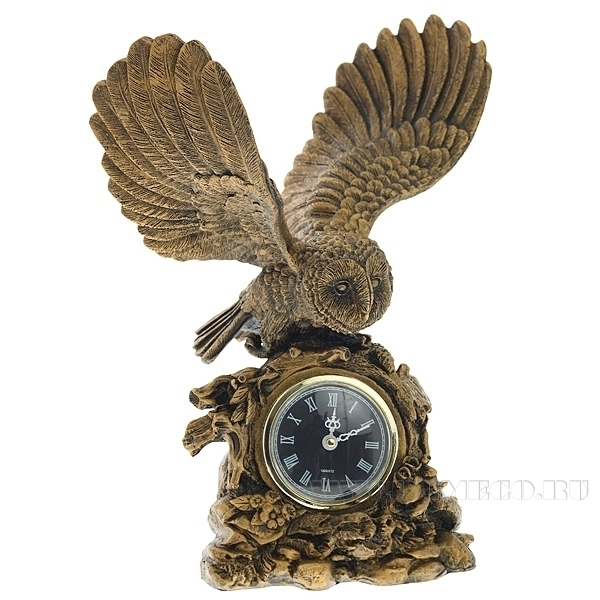 Композиция время Сова расправила крылья Н31см. оптом