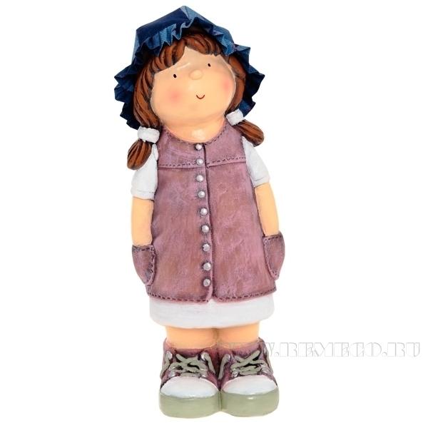 Фигура декоративная Девочка L18W16H49cm оптом