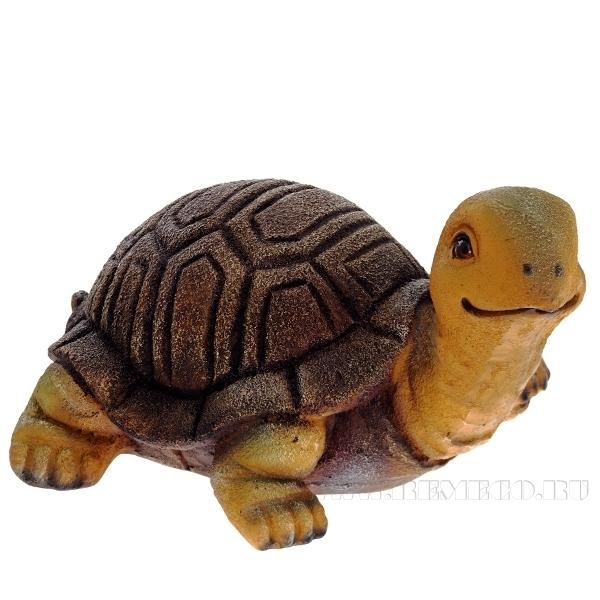 Фигура декоративная Черепаха малая L27W34H18см) оптом