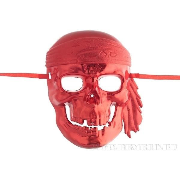 Карнавальное изделие для взрослых маска Череп оптом