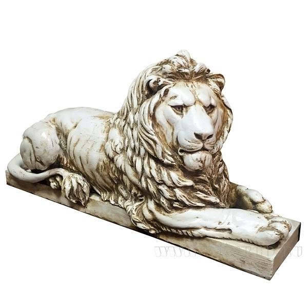 Изделие декоративное Лев(антика) L74W25H34 см оптом