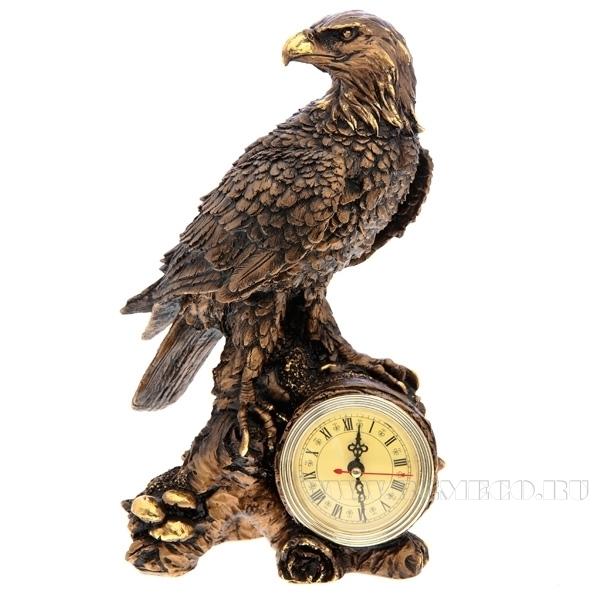 Композиция время Орел (сусальное золото) L18 W10.5 Н31см оптом