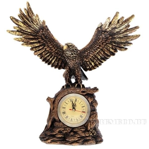 Композиция время Орел расправил крылья(сусальное золото)Н35см. оптом