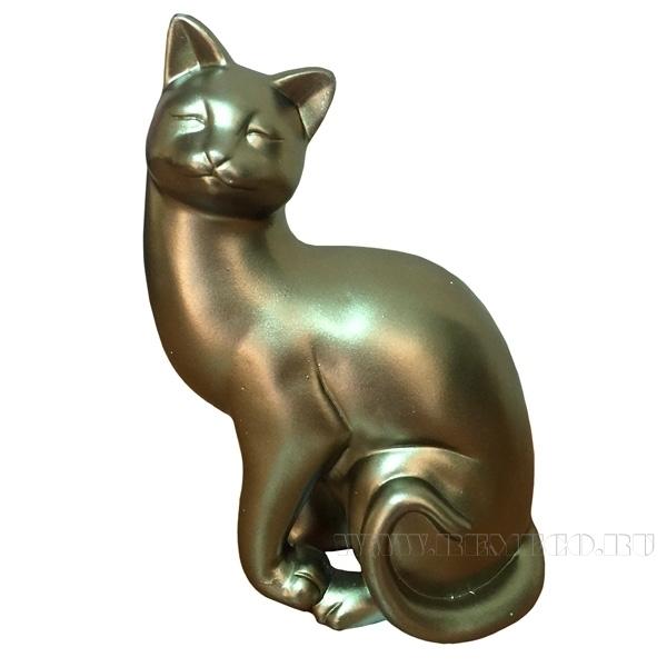 Фигура декоративная Кошка L13W8H19 оптом