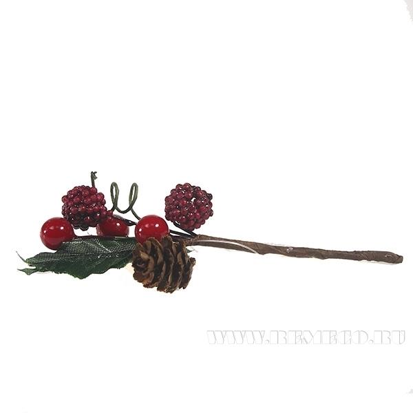 Искусственный цветок новогодний оптом