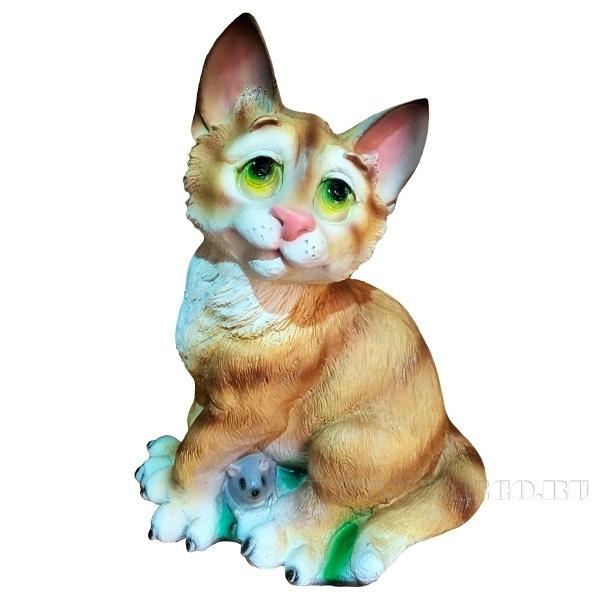 Фигура декоративная Кот задумчивый оптом