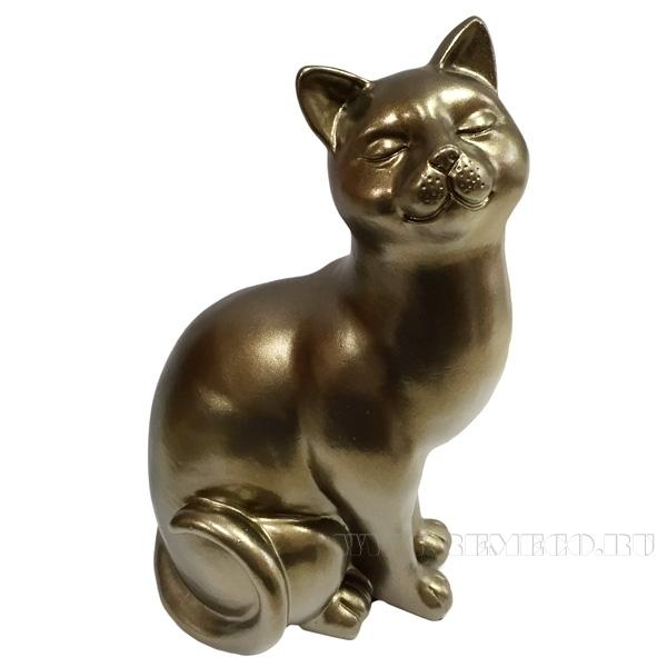 Фигура декоративная Кошка L12W9H21.5 оптом