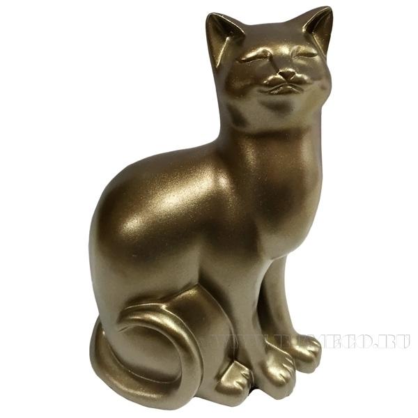 Фигура декоративная Кошка L12W7H20 оптом