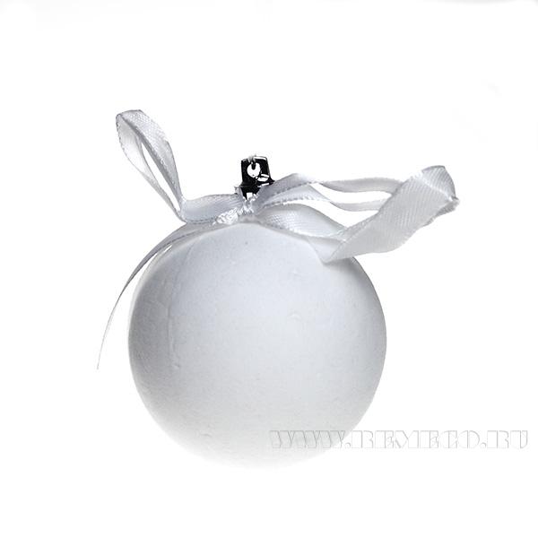 Новогоднее украшение Шар, D 6 см оптом
