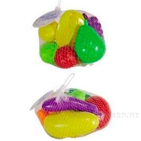 Набор игрушек Фрукты/Овощи, 8 предметов оптом