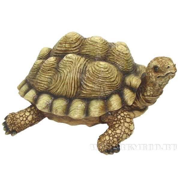 Фигура декоративная садовая Черепаха L30.5W25H16.5 см оптом