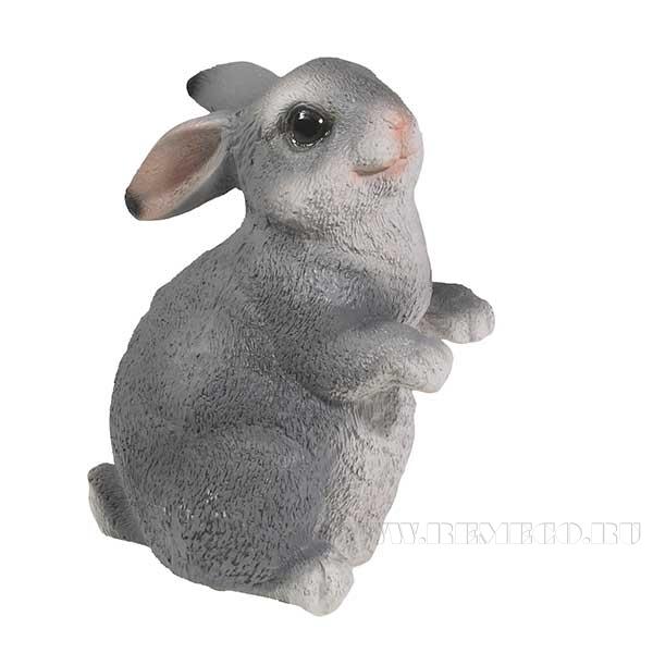 Фигура декоративная Кролик L8W8H13 см оптом