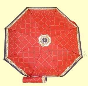 Зонт 23, полный автомат (Веревки на красно-бело-синем) оптом