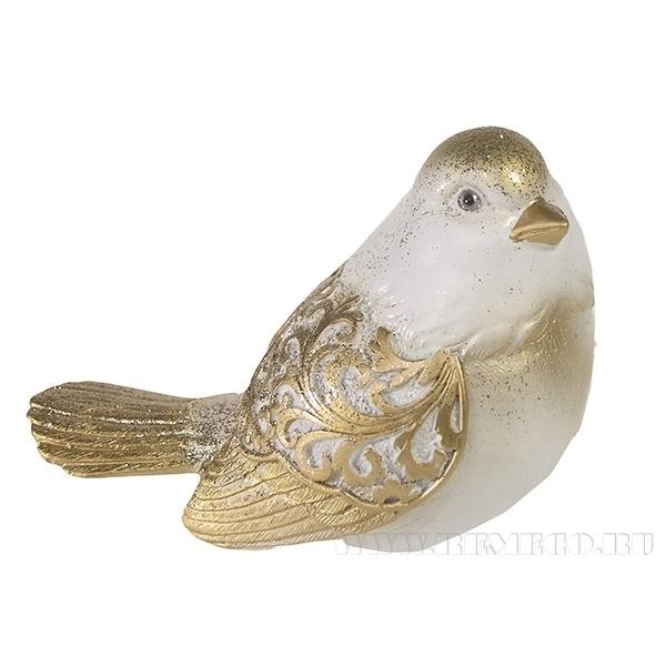 Фигура декоративная Красивая птичкаL9W12H9см. оптом