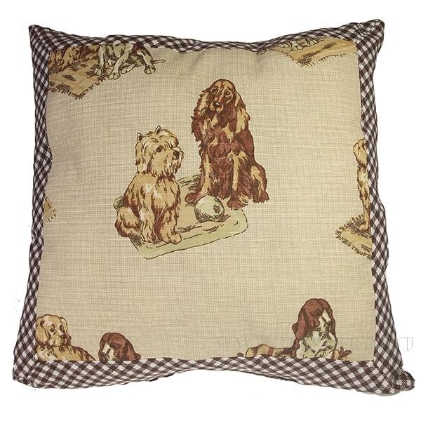 Подушка «Собаки»  40*40см оптом