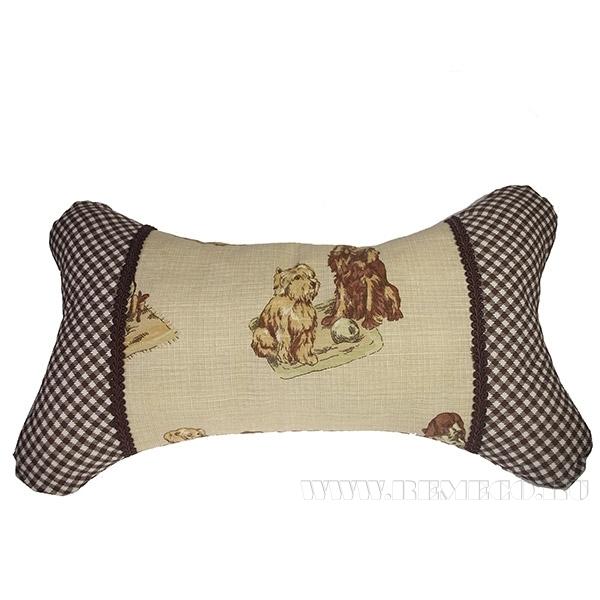 Подушка-кость «Собаки»  55*34см оптом