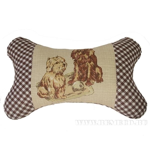 Подушка-кость «Собаки»  33*20см оптом