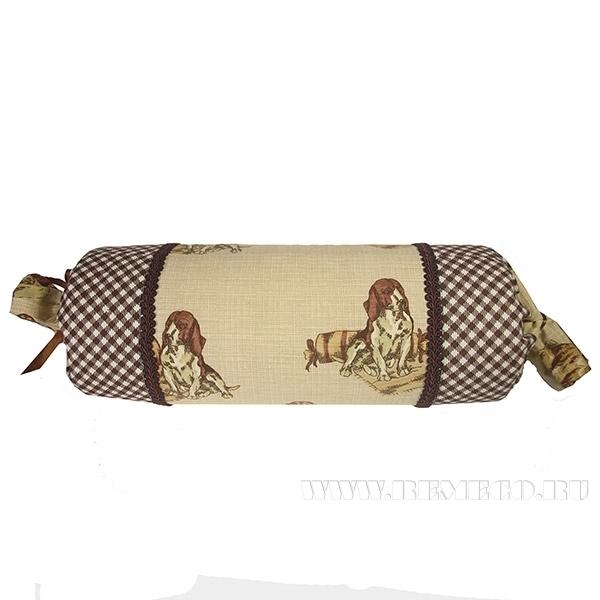 Подушка-валик «Собаки»  55*15см оптом